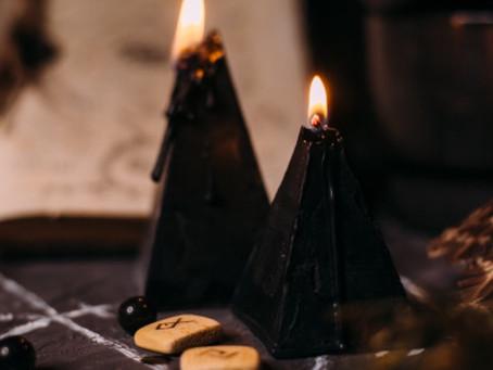 ¿Qué significado tienen las velas negras?