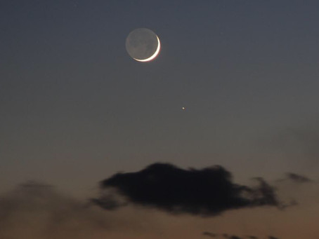 Este 16 de septiembre habrá Conjunción de la Luna y Saturno!