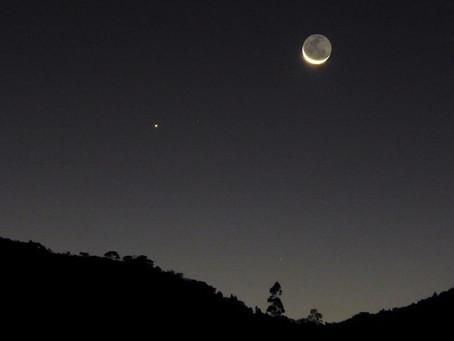 Hoy 8 de septiembre habrá Conjunción de la Luna y Mercurio.