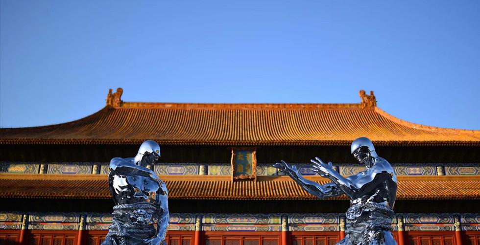 Ren Zhe Beijing Taimiao Solo Exhibition
