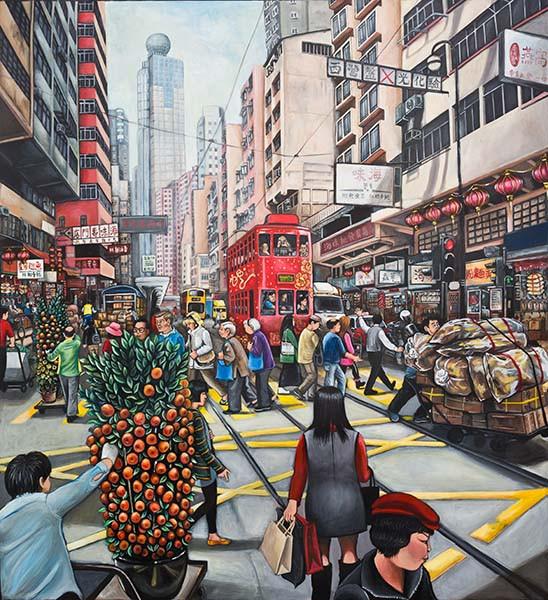 CNY Western_Acrylic on Canvas_122x122cm.