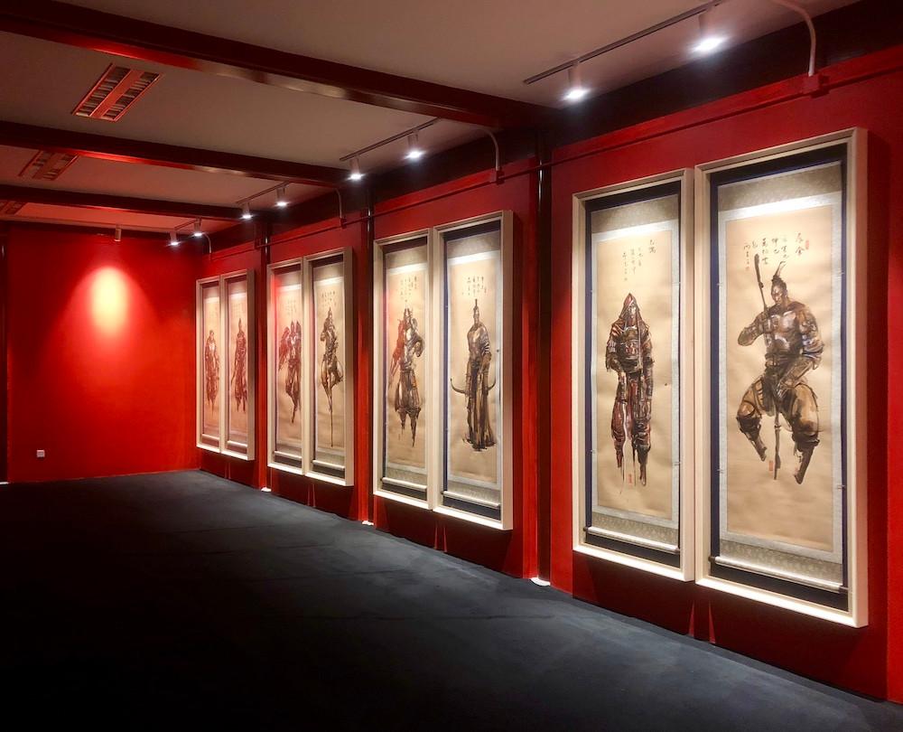 Ren Zhe Beijing WFCentral Solo Exhibition