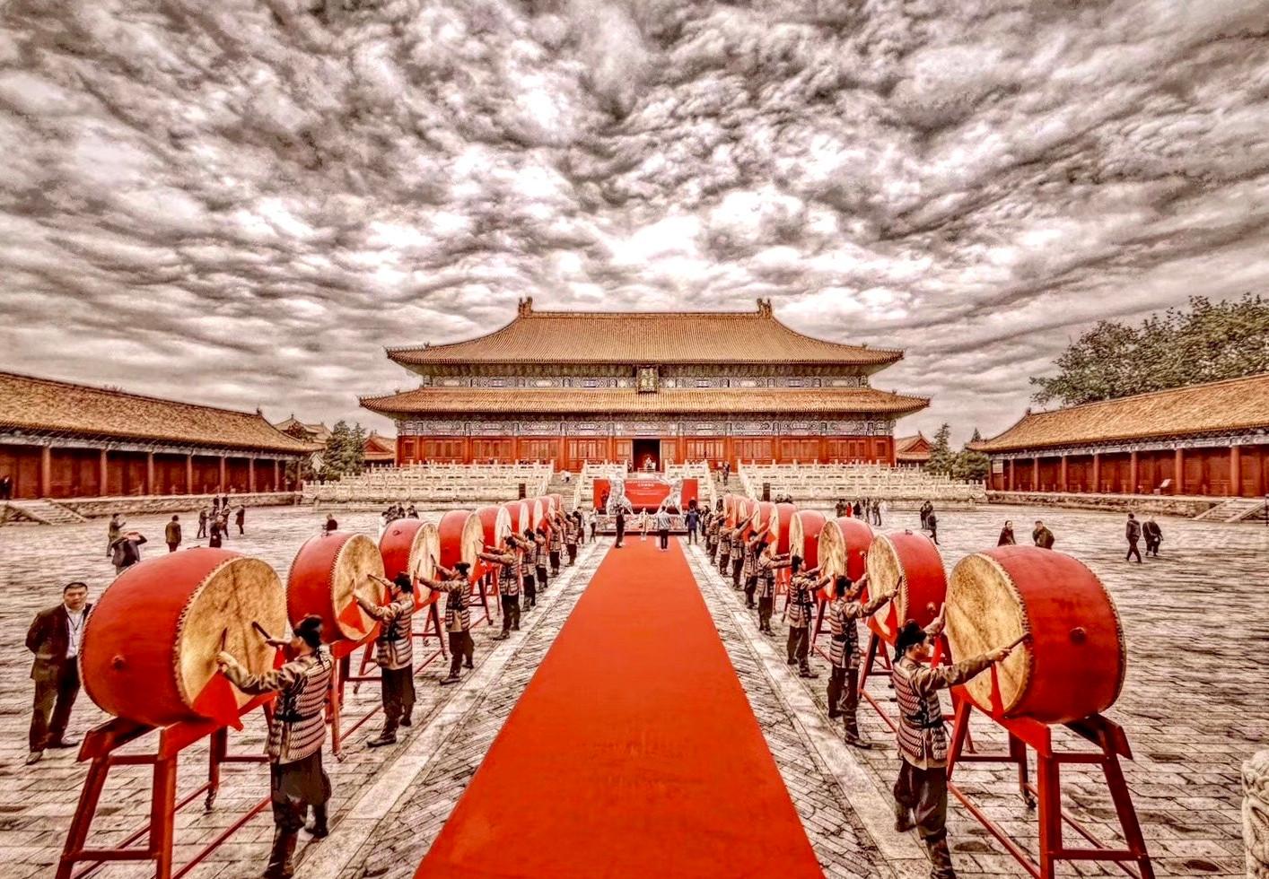 Ren Zhe Beijing Taimiao Solo Exhibition Opening