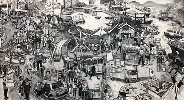 Aberdeen_220x122cm_Acrylic on canvas_HK$