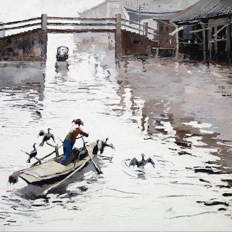古鎮的水道 (2010)