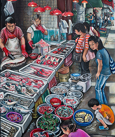 Fish Stall (2012)