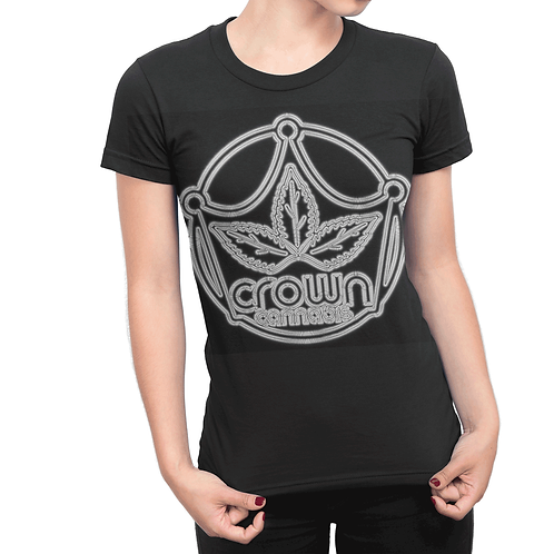 Crown Disco Sign Black T-Shirt