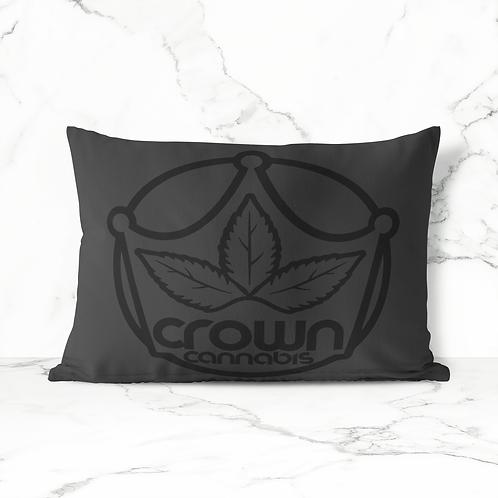 Crown Cannabis Pillow