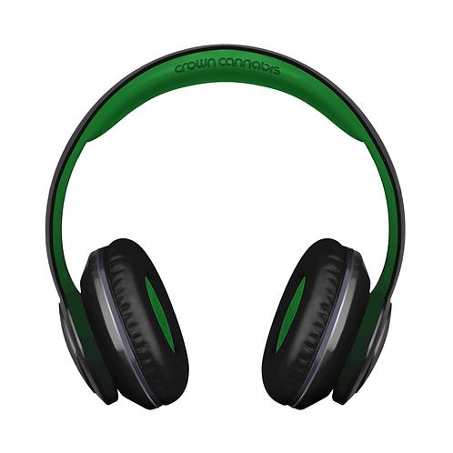 Crown Cannabis Bluetooth Headphones