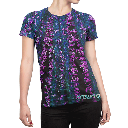 Crown Trichome Green / Purple Tee