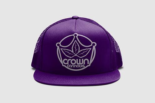 Crown Classic Trucker Dark Purple Hat