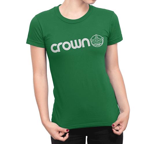 Crown Simple Green Logo
