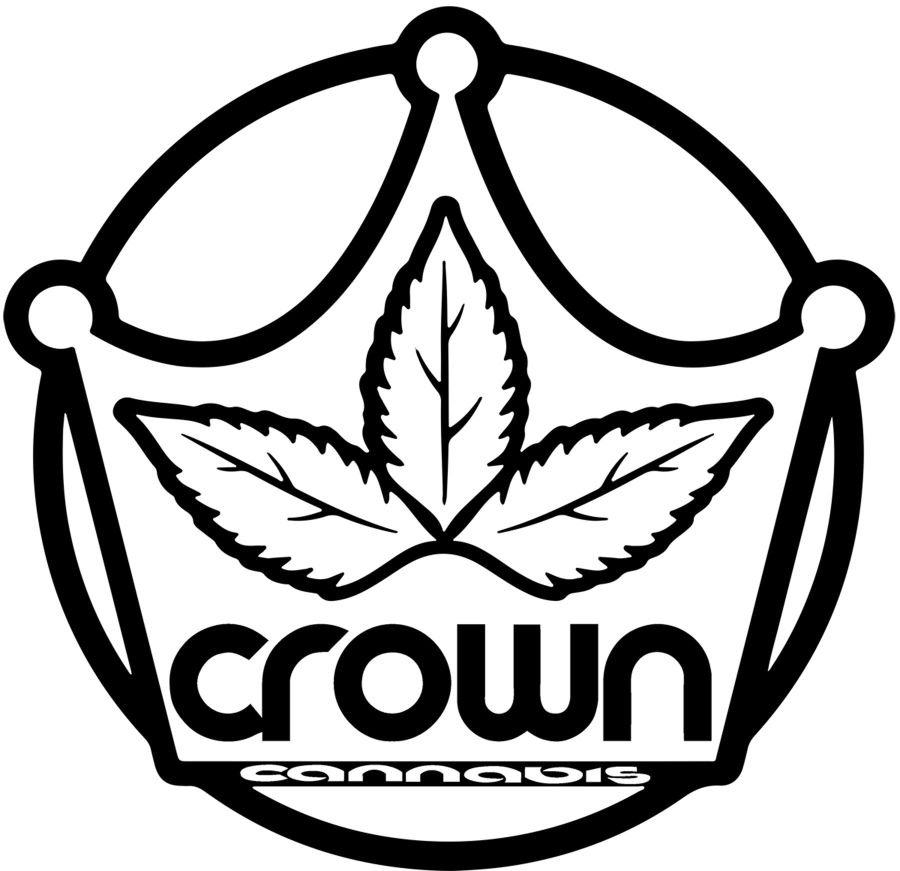 CROWN CANNABIS BLACK LOGO