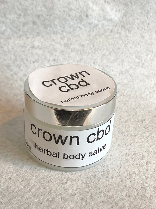 Crown CBD Herbal Body Salve