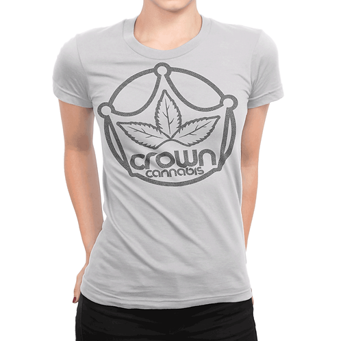Crown Womens Grey T-Shirt