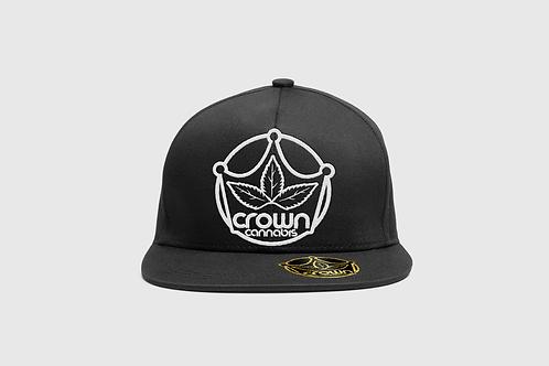 Crown Snapback Black Hat