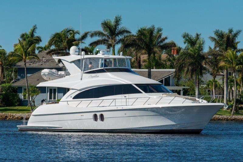 Yacht Charter Deposit Hatteras 60