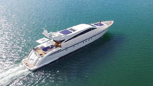 Yacht Charter Deposit Leopard 101