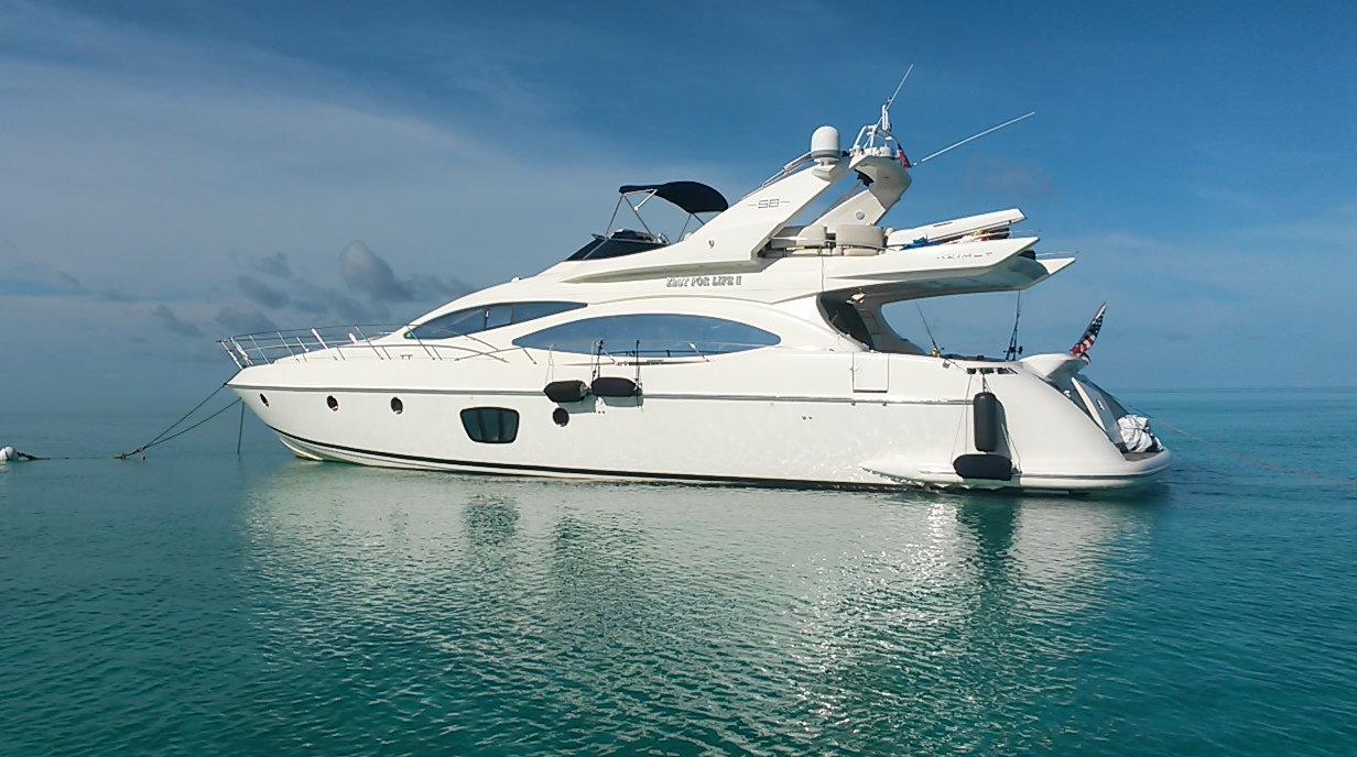 Yacht Charter Deposit Azimut 70