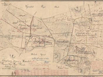 Matrikelkort, Møgelmose, Hammer sogn, Kær herred, ca. 1812