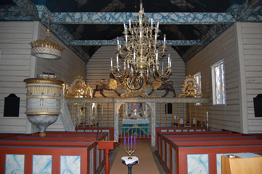 Interiør, Søndeled Kirke