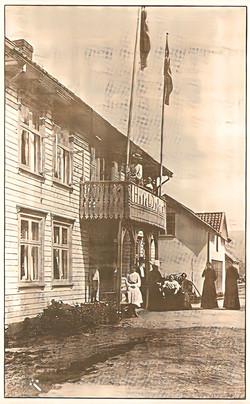 Det originale Hotel Dølen i beg. af 1900-tallet