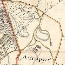 Sognekort ca. 1816