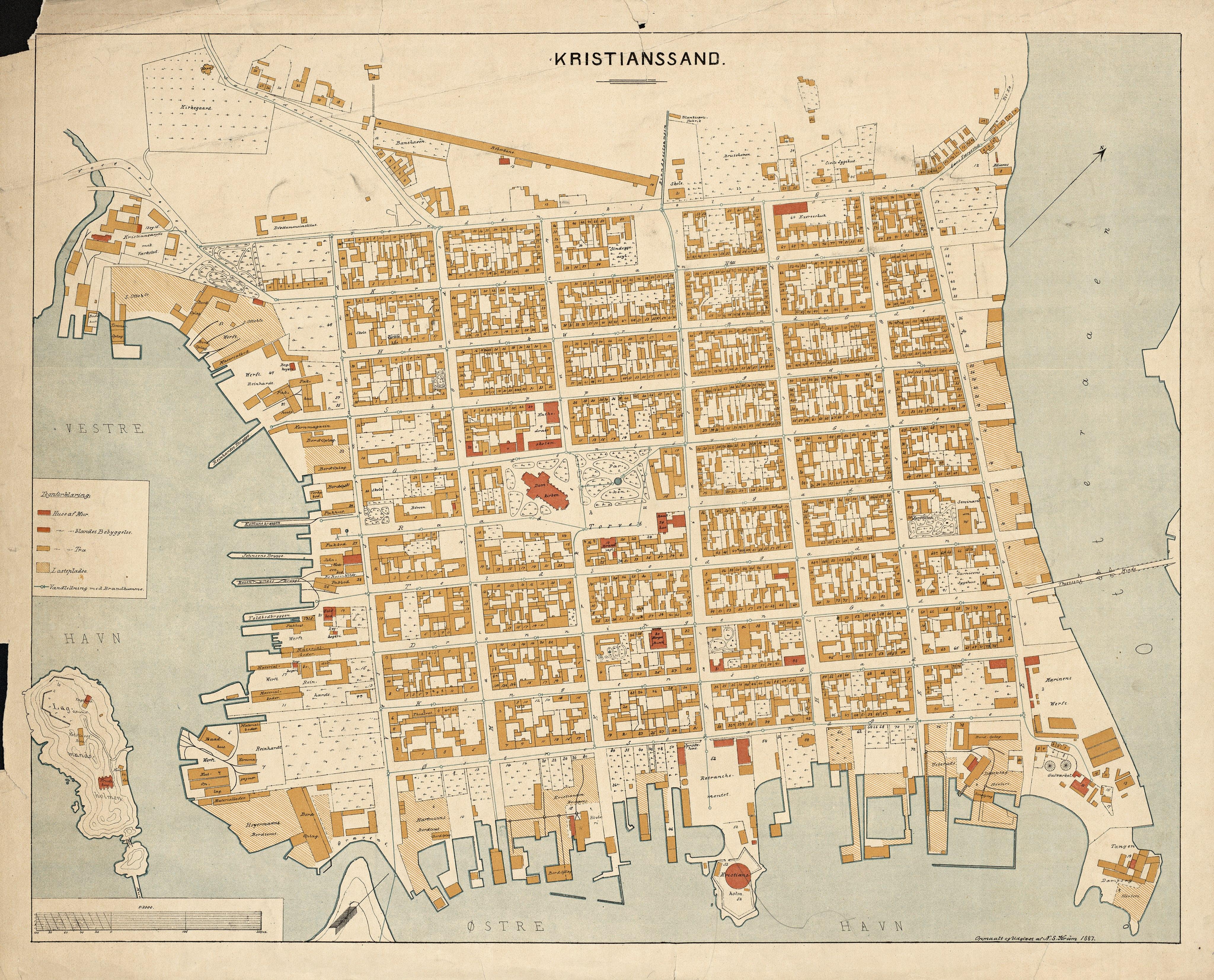 Kristiansand 1887