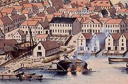 En bid af Vestre Havn, 1818