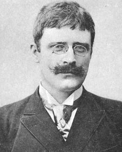 Forfatteren Knut Hamsun, 1898