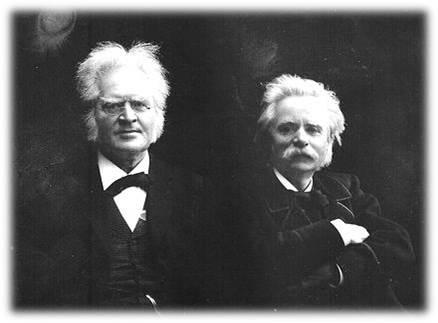 Bjørnson og Grieg