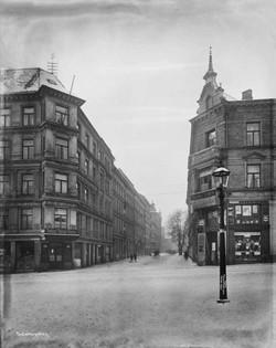 Dahlsbergstien i Kristiania (Oslo), 1904