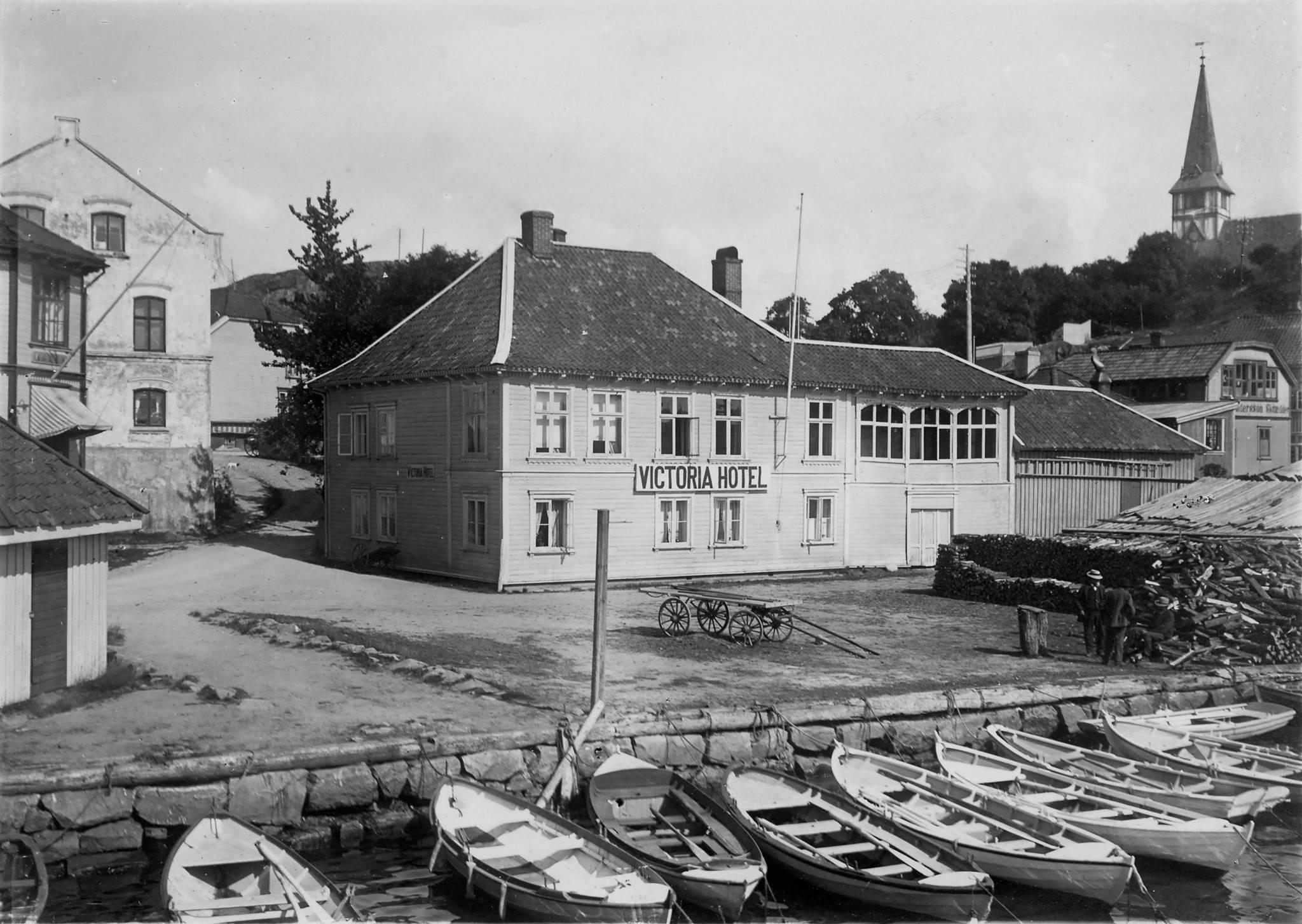 Victoria Hotel, Strandgate 38, Grimstad