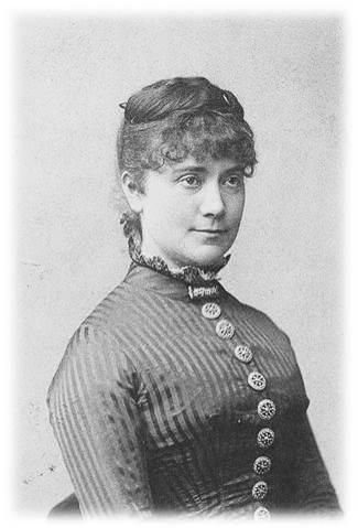 Skuespillerinde Sofie Reimers 1884