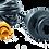 Thumbnail: Adapterio kabelis: Ethernet geltonas 5 pin vyr. to RJ45 moter., 2m (6.5 pėdų)