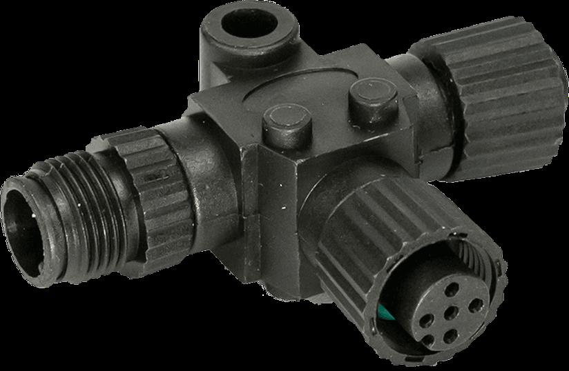 N2K-T-RD - NMEA 2000® T- jungtis prijungti papildomą tinklo įrenginį