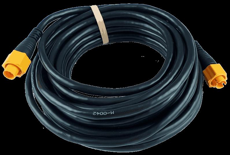 Ethernet kabelis, geltonas, 5 kaiščių, 7.7 m (25 pėdų)