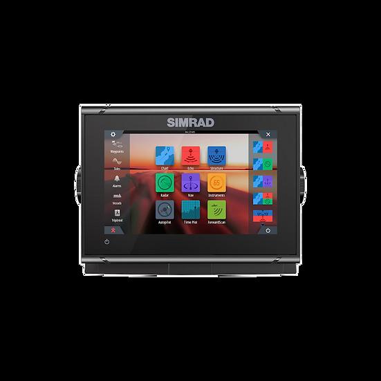 Simrad GO7 XSR Multi-touch su Active Imaging 3-in-1sonaru