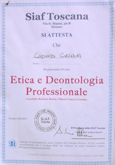 Etica & Deontologia