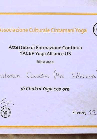 100 ORE YOGA Teacher training