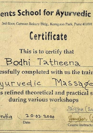 Ayervedic Massage