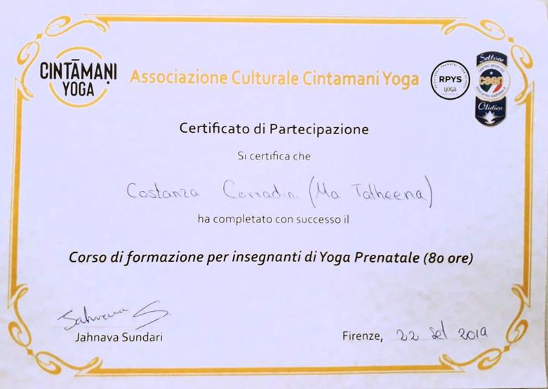 80 Ore Yoga Teacher Training