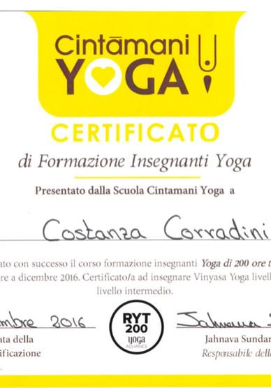 200h Yoga Teacher Training
