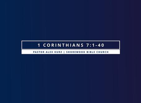 1 Corinthians 7:1-40