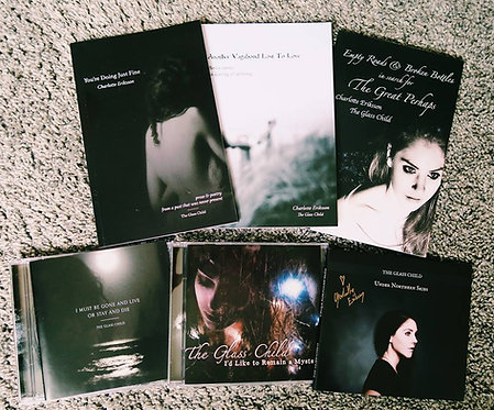 The Glass Child Bundle // All 4 Books + All 3 CDs