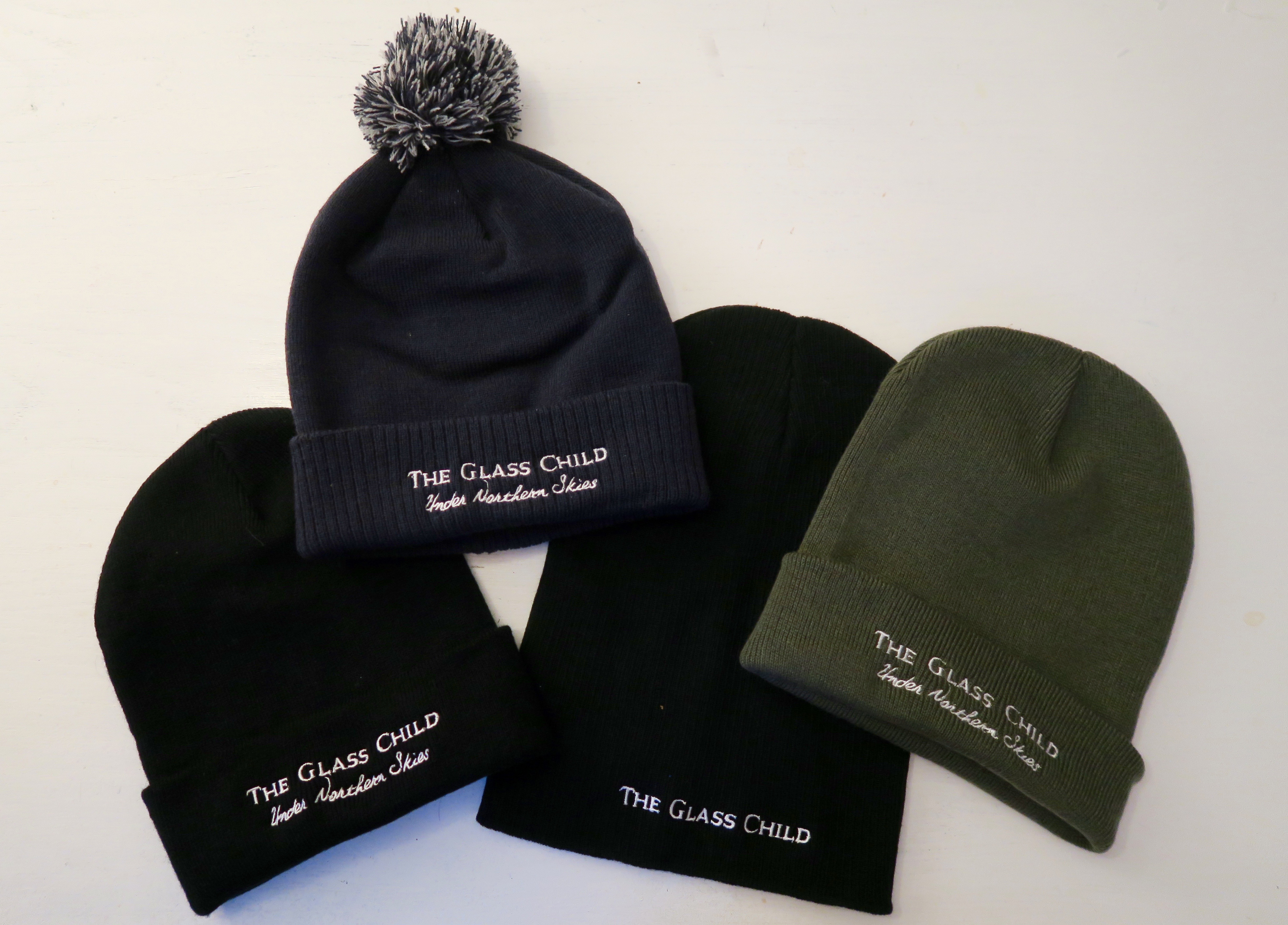 The Glass Child Hats