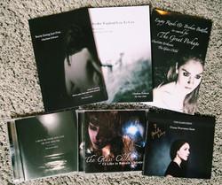 signed CDs & books