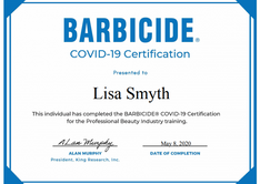Barbicide Covid-19 Hygiene Training