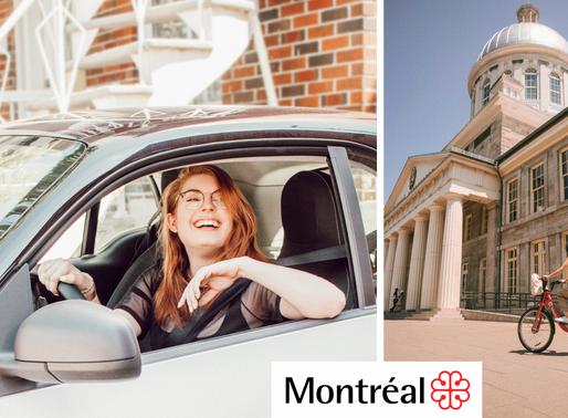 La ville de Montréal fait connaître le projet Vision Zéro grâce au marketing d'influence.