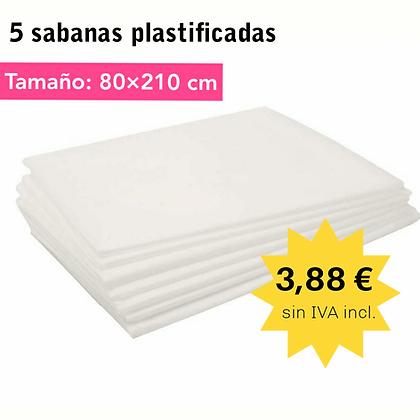SABANAS PLASTIFICADAS 5 UDS.